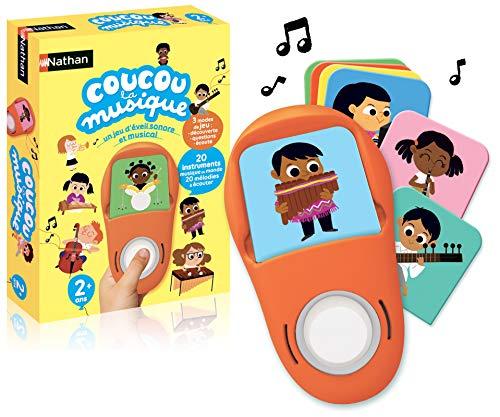 Nathan - Coucou la Musique - Un jeu électronique éducatif pour les enfants dès 2 ans