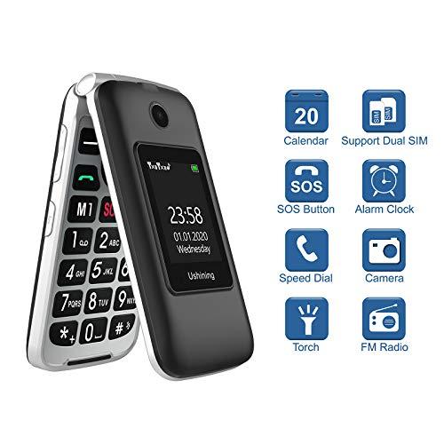 Ushining Flip Phones for Seniors