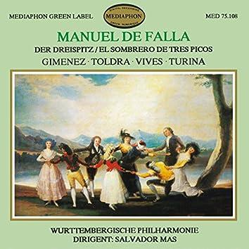 De Falla: The Three Cornered Hat & works by Gimenez, Toldra, Vives & Turina
