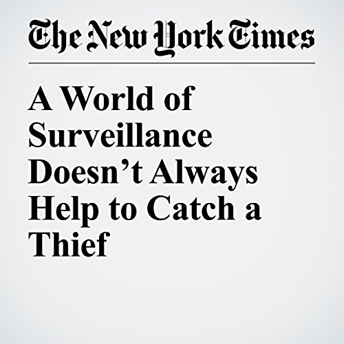 A World of Surveillance Doesn't Always Help to Catch a Thief audiobook cover art