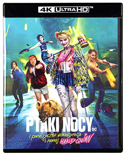Birds of Prey (And the Fantabulous Emancipation of One Harley Quinn) 4K UHD [Blu-Ray] [Region Free] (Audio español. Subtítulos en español)