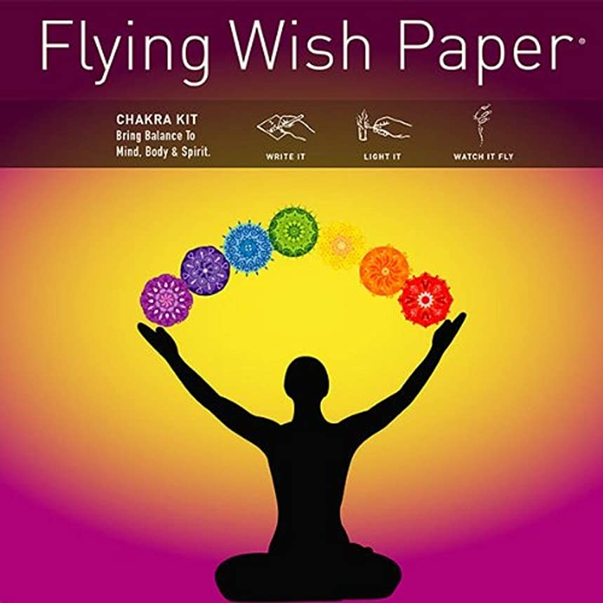 Flying Wish Paper Chakra, Large