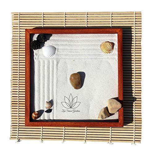 Giardino Zen In Miniatura per L'Arredamento di un Ufficio Idea regalo Zensimongardens®