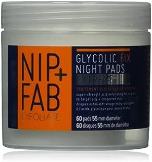 Nip + Fab Glycolic Fix Night Pads Extreme, 2.7 Ounce by Nip+Fab
