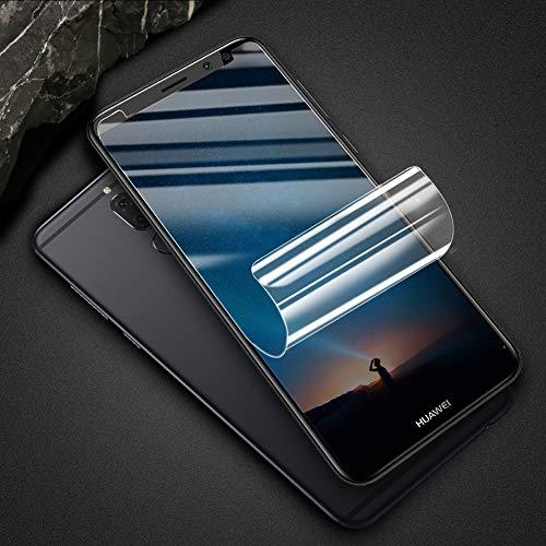 VICKSONGS (3Pezzi) Pellicola Protettiva per Huawei Mate 10 Lite, Pellicola Morbida in Pet[Anti-graffio][Alta Definizione][Senza Bolle] Proteggi Schermo Screen Protector Film per Huawei Mate 10 Lite