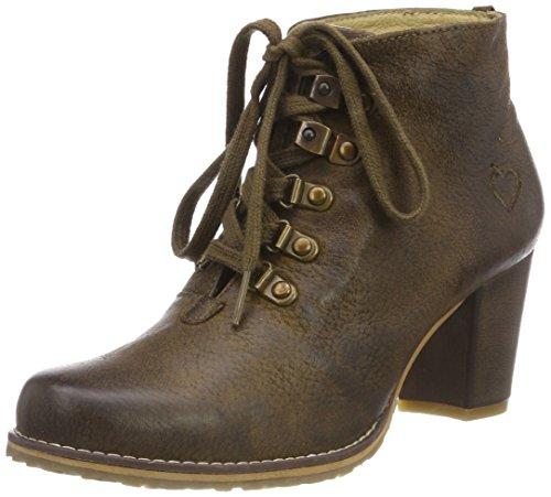 Spieth & Wensky Damen 482 D Irmtraud-Stiefel Stiefeletten, Braun (Rustic 2244), 38 EU