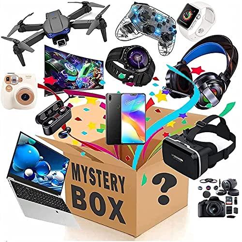 Waczecr Lucky Box, Mystery Blind Box, Ausgezeichnetes Preis-Leistungs-Verhältnis, Es Gibt Eine Chance Zum Öffnen: Smartwatches, Handy, Gamepads, Digitalkameras, Mehr/Alles Ist Möglich