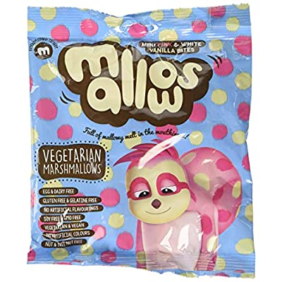freedom confectionery mini pink and white vanilla mallows 75 g Freedom Confectionery Mini Pink and White Vanilla Mallows, 75g 518fvOX7m L