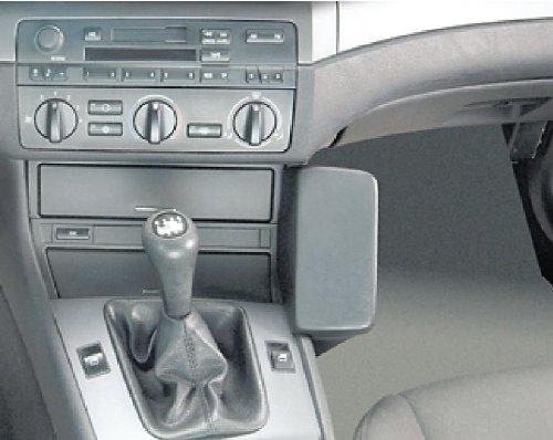 Waeco BMK000 Echtleder Telefonkonsole schwarz für BMW E46/3er ab Bj. 1998