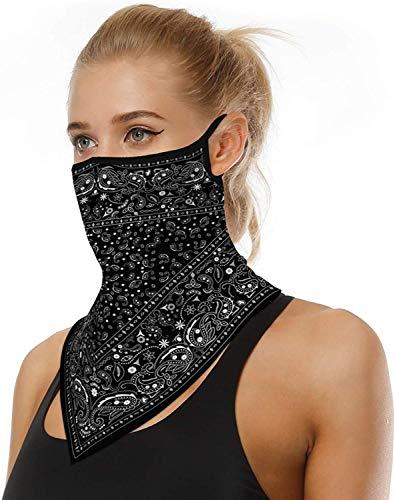 ARKIM Unisex Bandana Gesichtsmaske Schal Gesicht Rave Sturmhaube Hals Gamaschen Staubtuch Waschbare Wind Motorrad Maske Frauen Männer (Style-30)