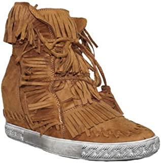 Amazon.es: botas flecos