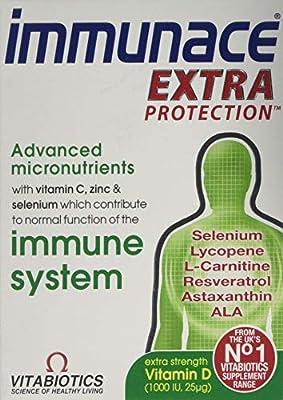 Vitabiotics Immunace Extra Protection Tablets