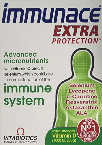 Vitabiotics Immunace Extra Protection Tablets