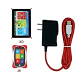 AC to DC Charger with 6 Feet (2 Meter) Long Cord for NABi Jr and NABi XD Tablets