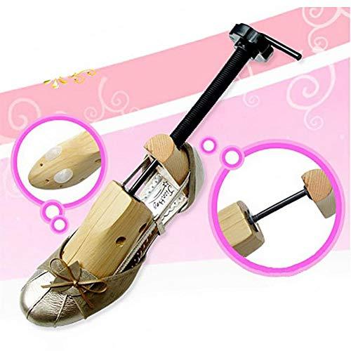 WWLDPTTCD Barella per Scarpe a 2 Vie Regolabile 1 Pezzo Scarpe in Legno Espansore Scarpe Shaper per Alberi Scaffali Piatti Pompe Stivali Espansori Alberi