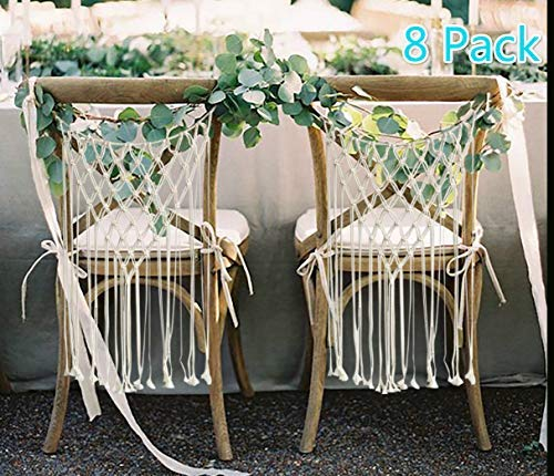 GLEHOME Wedding Chair Hanger Macrame Wall Hanging Home Décor Handwoven Bohemian...