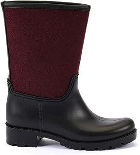 ESEM B0002 Yağmur Botu Kadın Ayakkabı Bordo