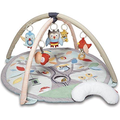 Skip Hop Baby Treetop Friends Activity Gym/Playmat, Grey Pastel
