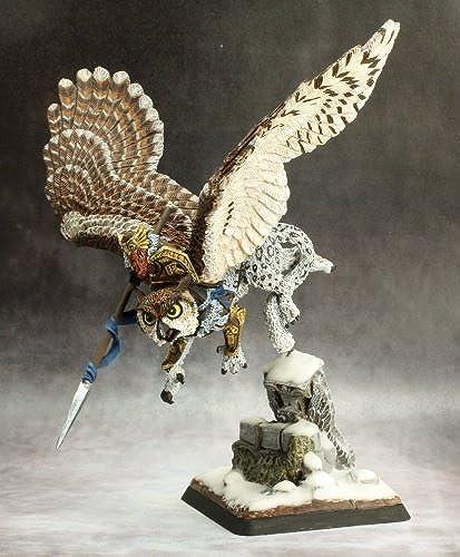 Reaper Hrolfgad Loftsaddle, Dwarf Griffon Rider  14637 Kragmarr Unpainted by Reaper