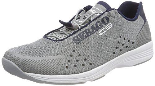 Sebago Herren Cyphon Sea Sport Bootsportschuhe, -Multicolour (Grey/Navy N25)-43.5