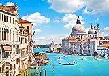HCYEFG 1000 Piezas De Juguetes De Rompecabezas De Bricolaje Venecia, Italia Adult Puzzle Kids Jigsaw