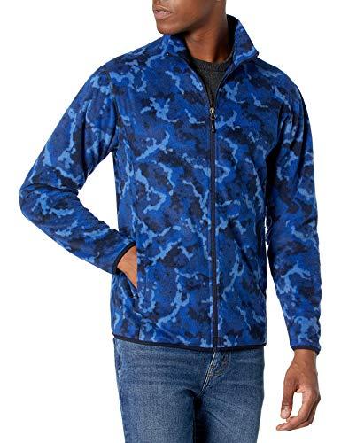 Under Armour Men's Forefront Rain Jacket , American Blue (449)/Versa Blue , Large