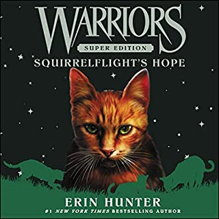 Warriors Super Edition: Squirrelflight's Hope audiobook cover art