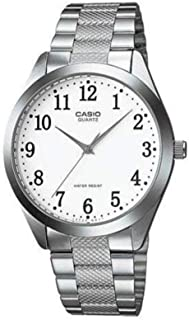 Casio 19123 ltp-1274d-7b Clock – Lady Quartz Bracelet Metallic Dial White