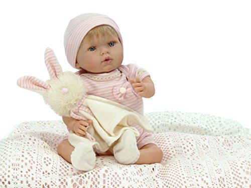 Nines d´Onil 1000 Artesanals d'Onil – Reborn-Puppe mit Häschen als Geschenk