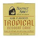 Rum-Flavored Tropical Dessert Cake