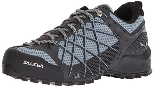 Salewa WS Wildfire, Zapatos de Senderismo Mujer, Gris (Magnet/Blue Fog), 38 EU