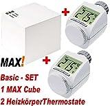 eq-3 MAX! Heizungsteuerung Basic- / Starter-Set