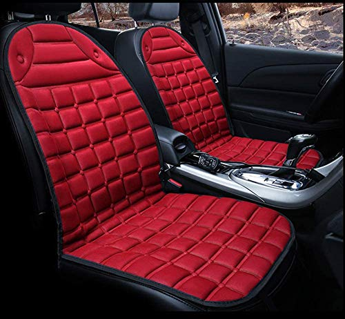 YSDS-JZ Cojín para asiento de coche con calefacción automática de 12 V, 2 unidades, cómodo, versión mejorada, para invierno