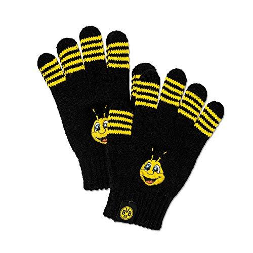 Borussia Dortmund, EMMA-Handschuhe, Schwarz, 0