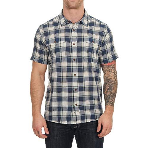 Patagonia M's Steersman T-Shirt pour Homme S Bleu (Stone Blue)