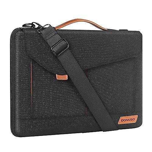 DOMISO 13.3-14 Inch Laptop Sleeve Case Shoulder Bag Lightweight Resistant...