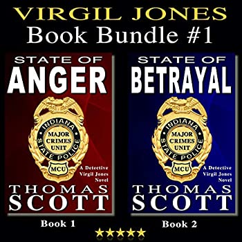 Virgil Jones Book Bundle #1  State of Anger and State of Betrayal  Two Complete Mystery Thriller Suspense Series Books