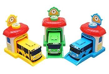 Tayo Rogi Lani Shooting-Car Station - The Little Bus Tayo Friends Toy Car
