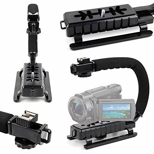 DURAGADGET Estabilizador de Imagen de Mano para Cámara Sony Handycam FDR-AX33 4KUHD