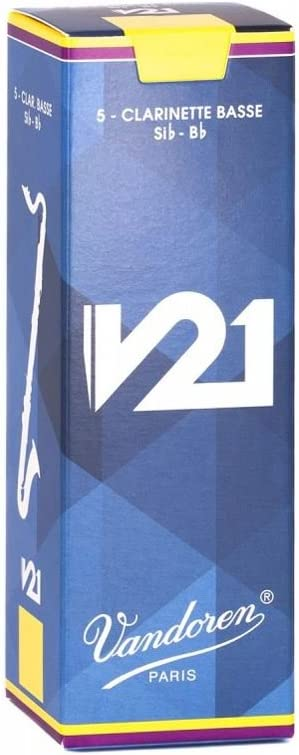 Vandoren CR8225 Bass Clarinet V21 Reeds Strength Box Sale price 5 2.5 of Las Vegas Mall