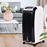Toolsempire Evaporative Cooler Air Cooler,Portable Air Conditioner Fan,Super Quiet Humidifier Misting Fan,7.5H Timer with 3 Wind Modes,3 Speeds With Remote Control for Home Office Bedroom (H-28inch)