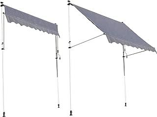 Empasa tenda da sole a braccio pieghevole Tenda Sole 1,90 x 1,50 M Alluminio Poliestere