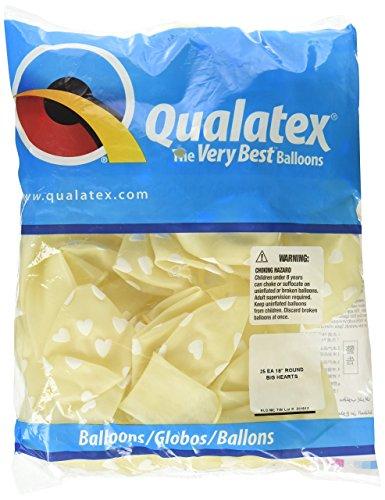 "Pioneer Balloon Company 1811446 Latex Balloon 18"" White"
