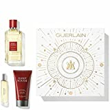 Guerlain habit rouge eau toilette 100ml + gel de ducha 75ml + eau toilette 10ml