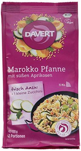 Davert Marokko-Pfanne, mit süßen Aprikosen, 6er Pack (6 x 170 g) - Bio
