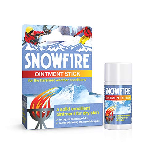 Snowfire ointment for chilbains treatment