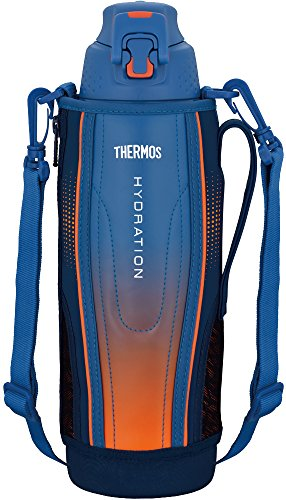 Thermosfles isolatie sportfles [one-touch open type] 1,5 l blauwe gradieten FFZ-1502F BL-G