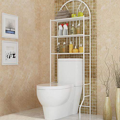 Trintion Over Toilet Shelf 177 * 65 * 34cm 3 Tier Bathroom Storage Shelf Bathroom Rack Laundry Shelf Unit Organizer for necessary items like towels toilet paper and more