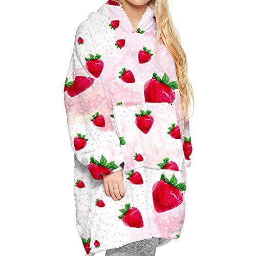 Los Pijamas de Manta de visón casero Sueltos y cálidos con