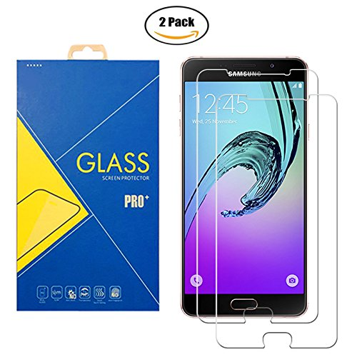 [2 Pack] Panzerglas Schutzfolie Samsung Galaxy A7 2016 SM-A710 / A710F - Gehärtetem Glas Schutzfolie Displayschutzfolie für Samsung Galaxy A7 2016 SM-A710 / A710F